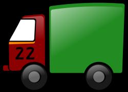 Nákladné auto prezentujúce SSH paket