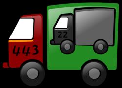 Nákladné auto prezentujúce VPN paket